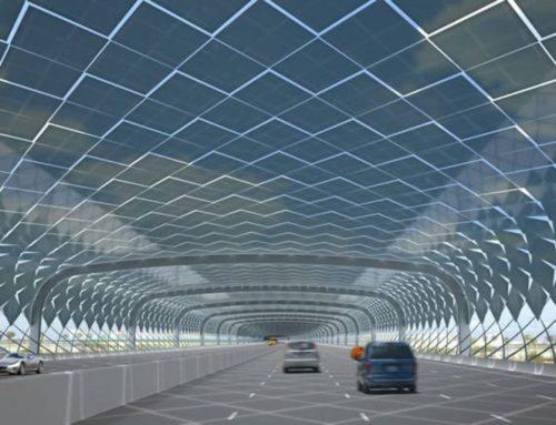 CUBIERTAS SOLARES… para autopistas, carreteras y vías
