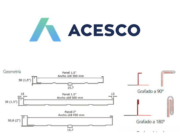 teja sin traslapo Acesco