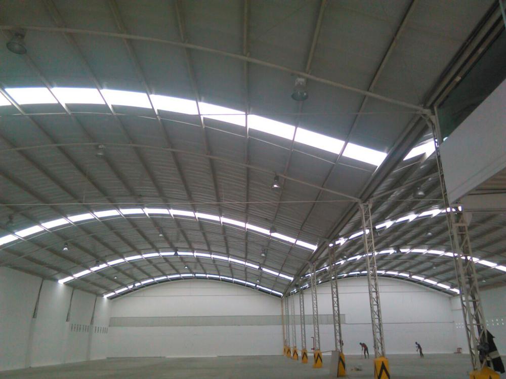 cubierta y fachada en lamina de acero galvanizado